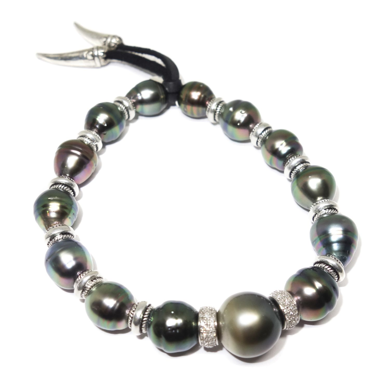 Diamond And South Sea Pearl Men S Bracelet Men S Bracelets Lazaro Soho Bracelets For Men Bracelets South Sea Pearls