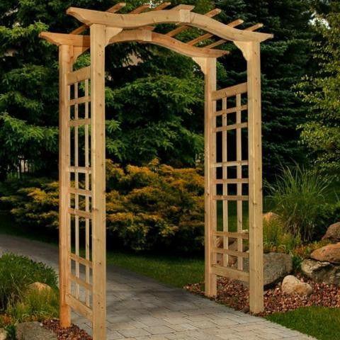 Westwood Arbor Garden In The Woods Garden Entrance Cedar Garden