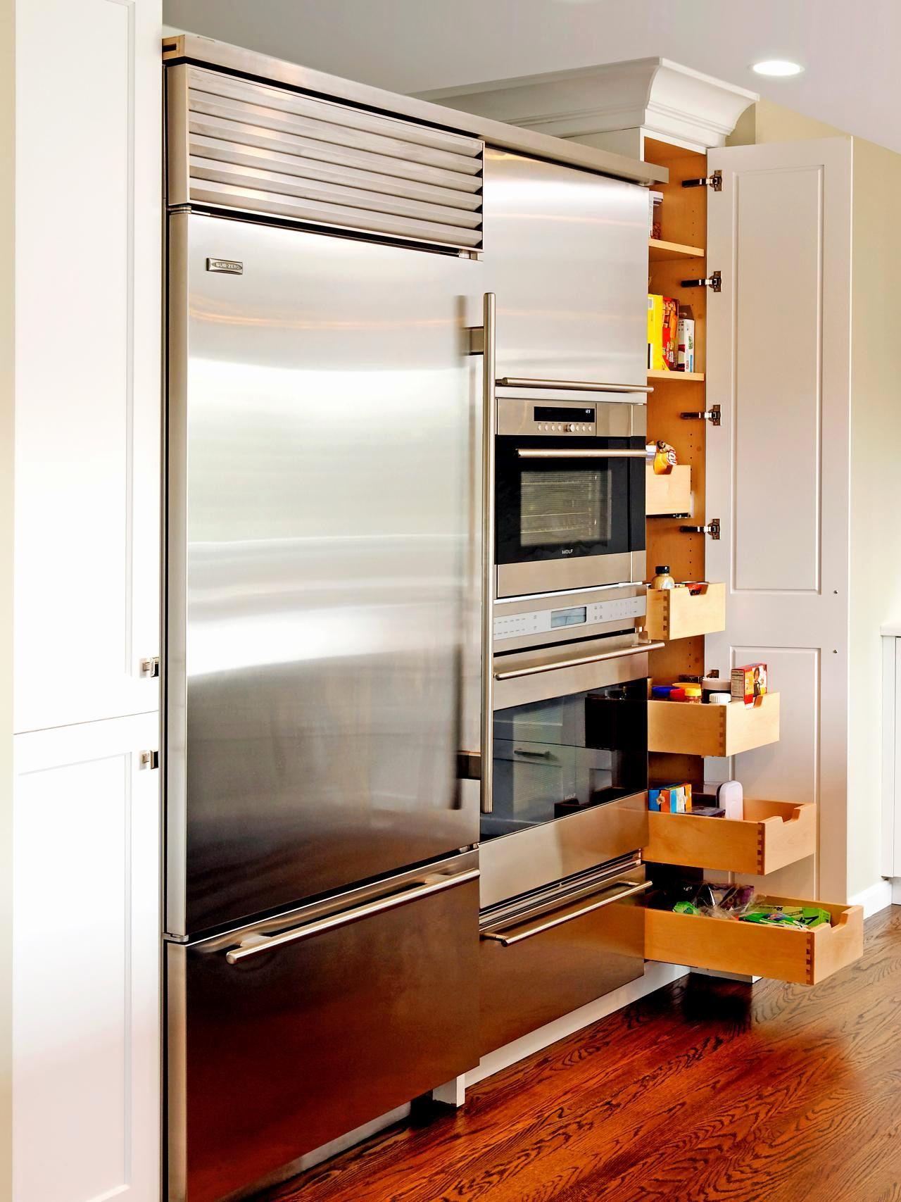 Small Kitchen Appliance Storage Ideas Unique Storage ...
