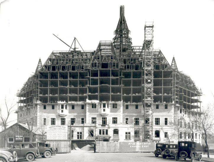 Vintage Saskatoon Delta Bessborough Halfway Built In 1931 Saskatoon Vintage Pictures