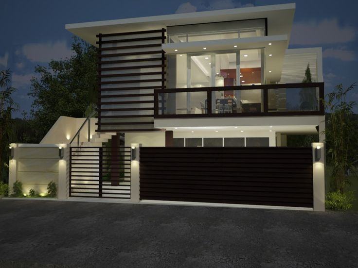 modern house gates and fences designs Google Search Fences