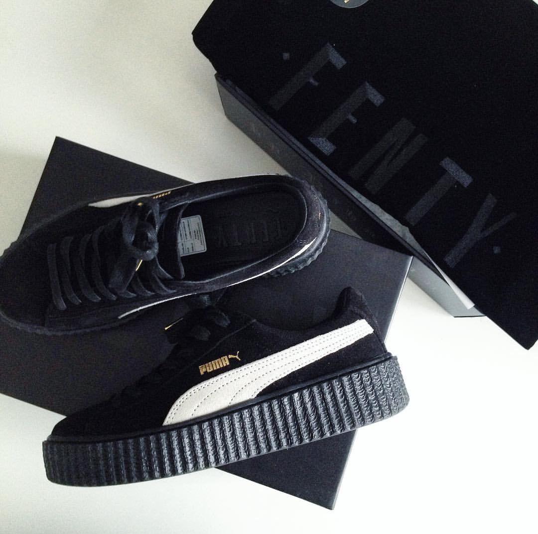 new arrival 4ef50 ed79f Puma fenty in schwarz weiß/black white // Foto: inslopez ...