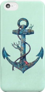 Lost at Sea  by Terry  Fan iPhone 5 case