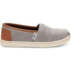Toms Schuhe Frost Grau Chambray Classics Fur Kinder Grosse 36 Tomstoms In 2020 Toms Shoes Toms Shoes