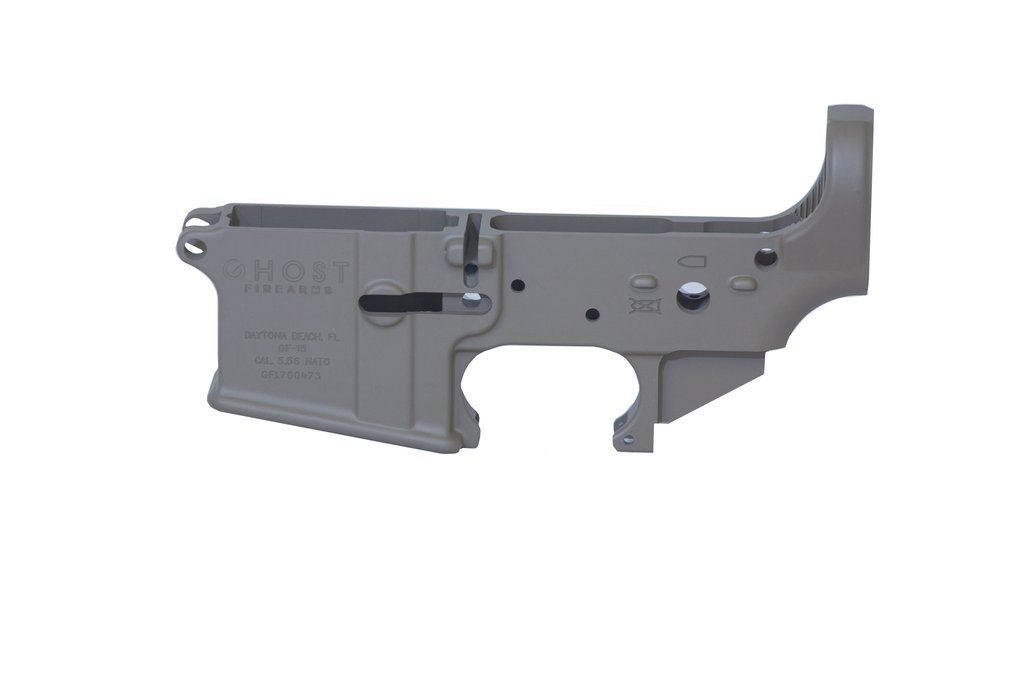Ghost Stripped Lower Receiver - FDE