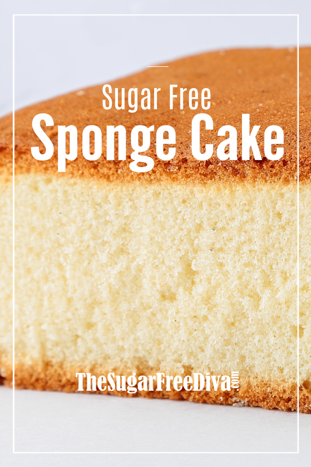 YUMMY Sponge Cake that is made without adding sugar to it