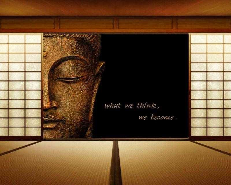 Text Quotes Zen Buddha Think Wooden Floor Wallpaper Fresh HD Wallpapers For Your Desktop