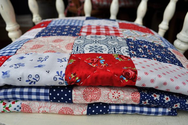 Dutch fabric quilt | Flickr - Photo Sharing!
