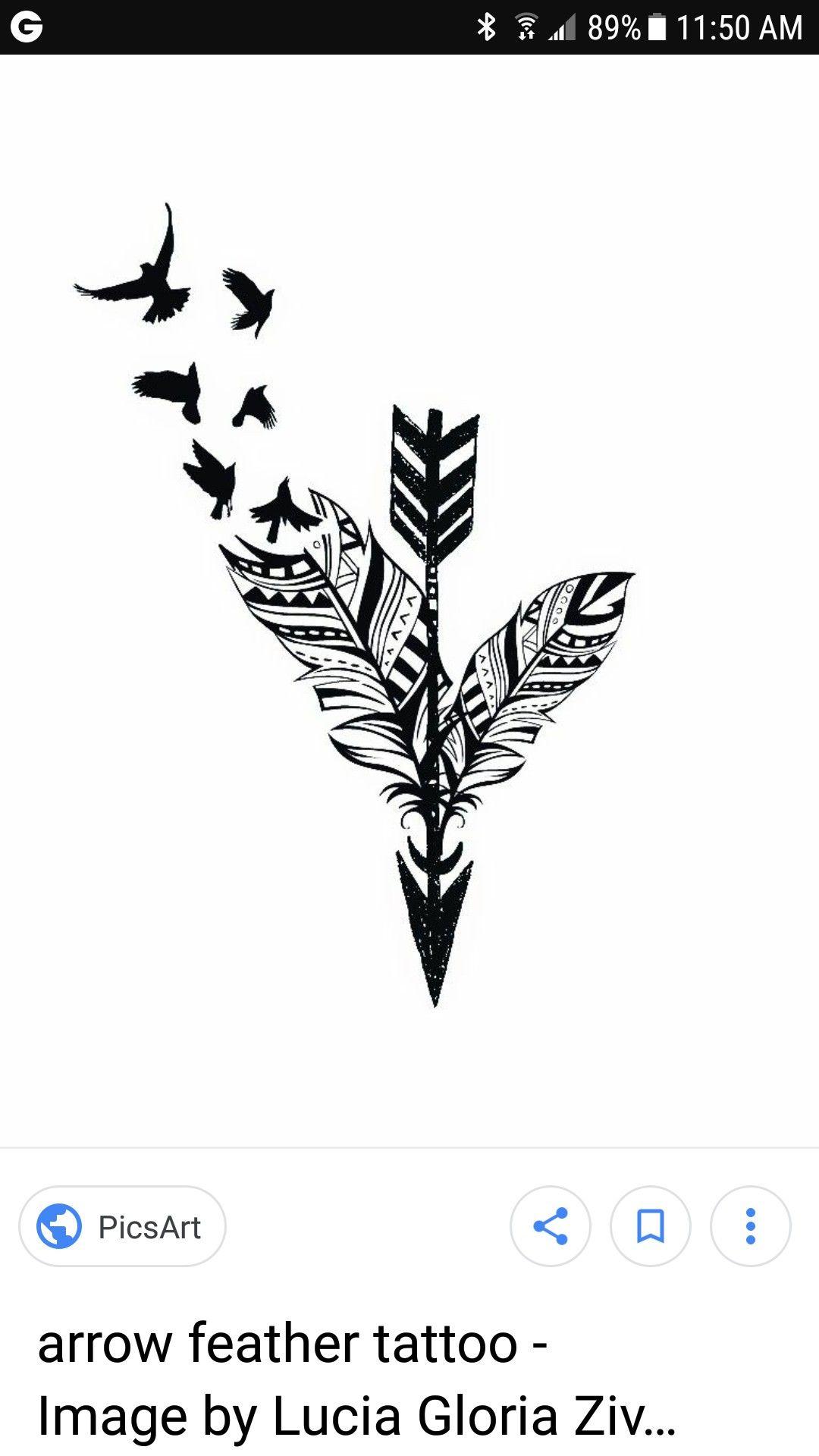Arrow Feather Tattoo Feather Tattoos Feather Tattoo Tattoos