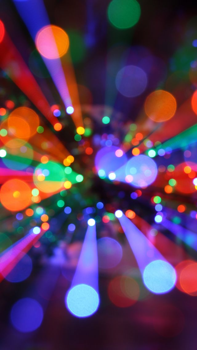 Christmas lights wallpaper iphone