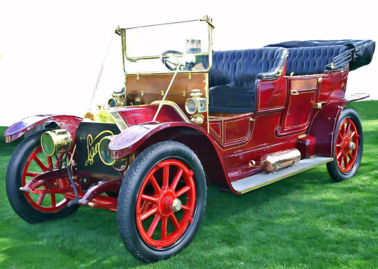 Italy. Lancia Alpha, 1908, the first car made by Lancia. | 1900\'s ...