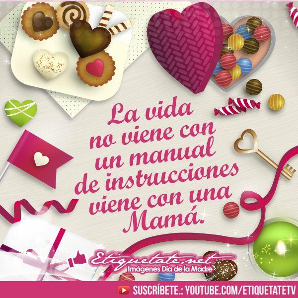 Imágenes Frases Bonitas Del Día De La Madre Etiquetate Net Banco De Imágenes Mensaje Del Día De La Madre Feliz Día De La Madre Dia De Las Madres