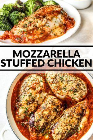 Photo of Mozzarella Stuffed Chicken