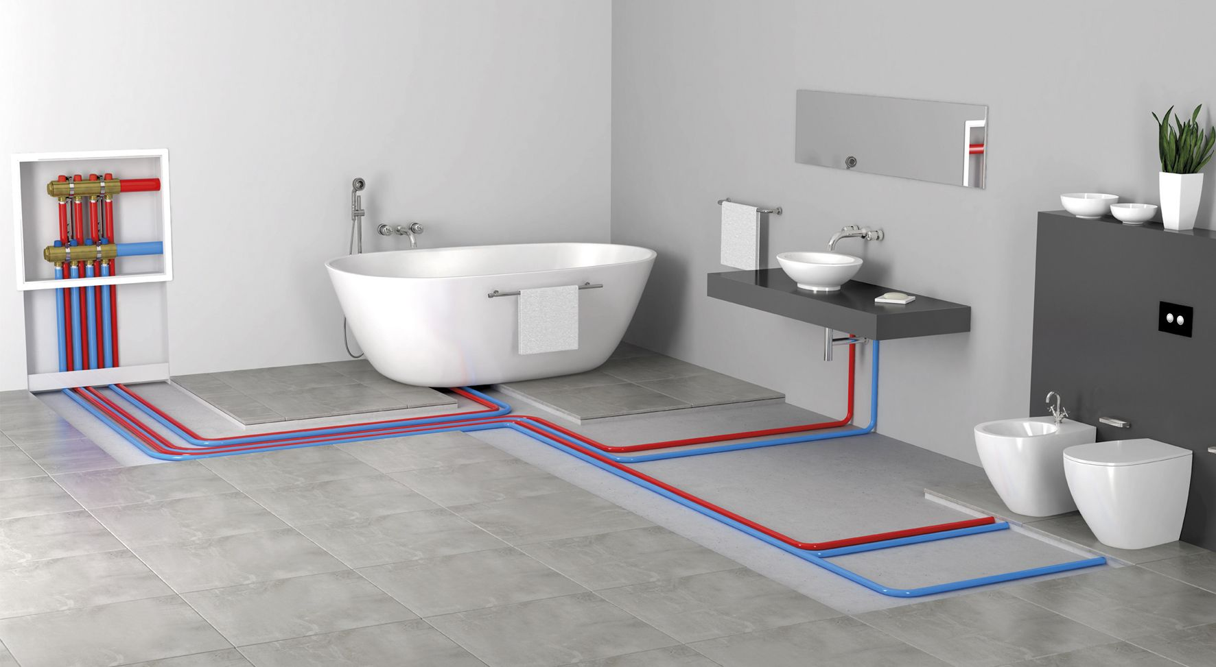 Valsir spa is an italian producer of in wall and exposed for Waste drainage system