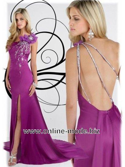 Party Kleid Abendkleid in Lila von www.online-mode.biz | Kleider ...