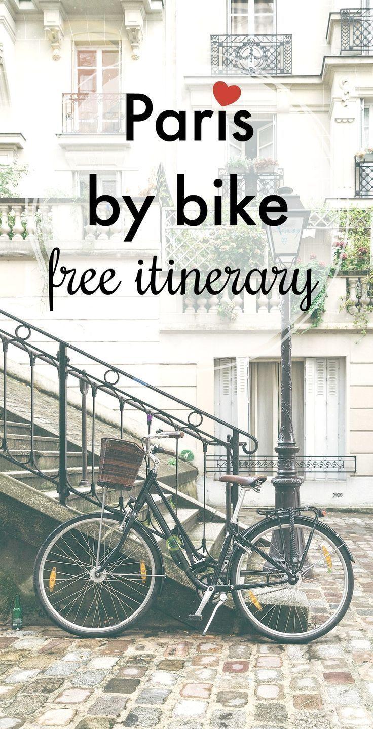 Explore Paris By Velib A Half Day Itinerary By Bike Paris