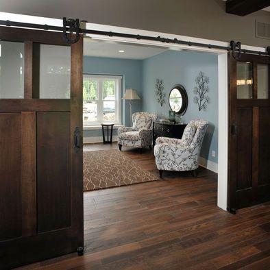 Love those doors...barn door
