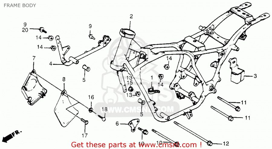 15+ Honda Shadow Vt500C Motorcycle Wiring Diagram