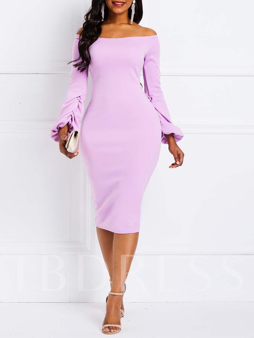 half sleev plus  large sizes square neckline dress work dress elegant cotton tube dress Gray woman winter bodycon dress pencil dress