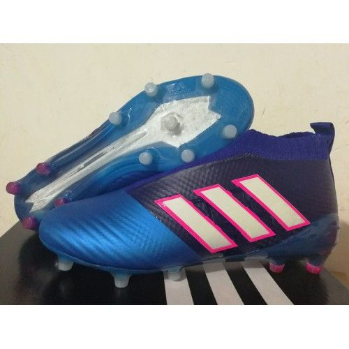 c94968485f Adidas ACE 17 PureControl FG Blue Red White cleats
