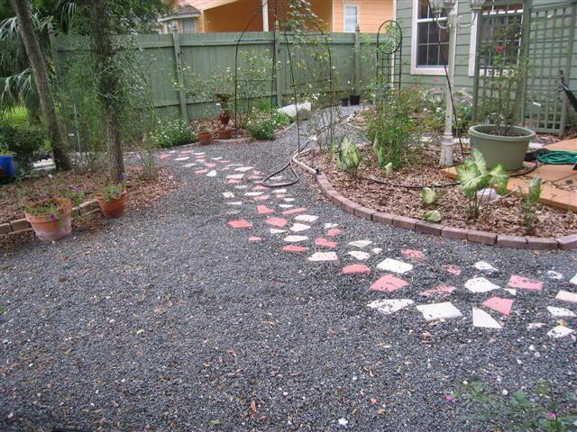 Landscaping With Mulch And Gravel : Grass vs gravel landscape design forum gardenweb