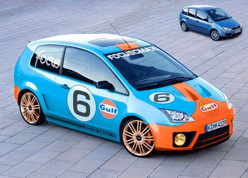 Ford Focus C Max Type R Gulf Racing Ford Focus Ford