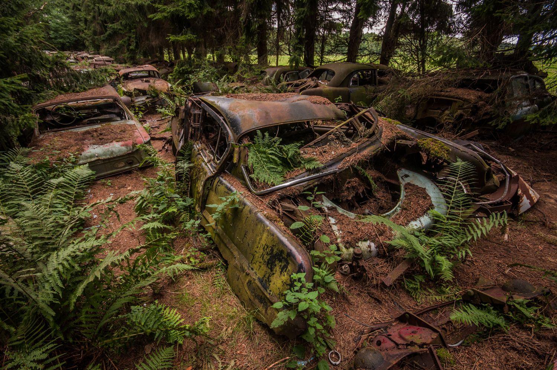 urbex chatillon car graveyard bert beckers bert beckers photography pinterest. Black Bedroom Furniture Sets. Home Design Ideas