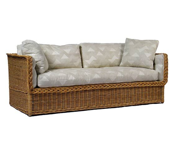 Clic Day Bed Sofa Wicker Material Indoor Furniture