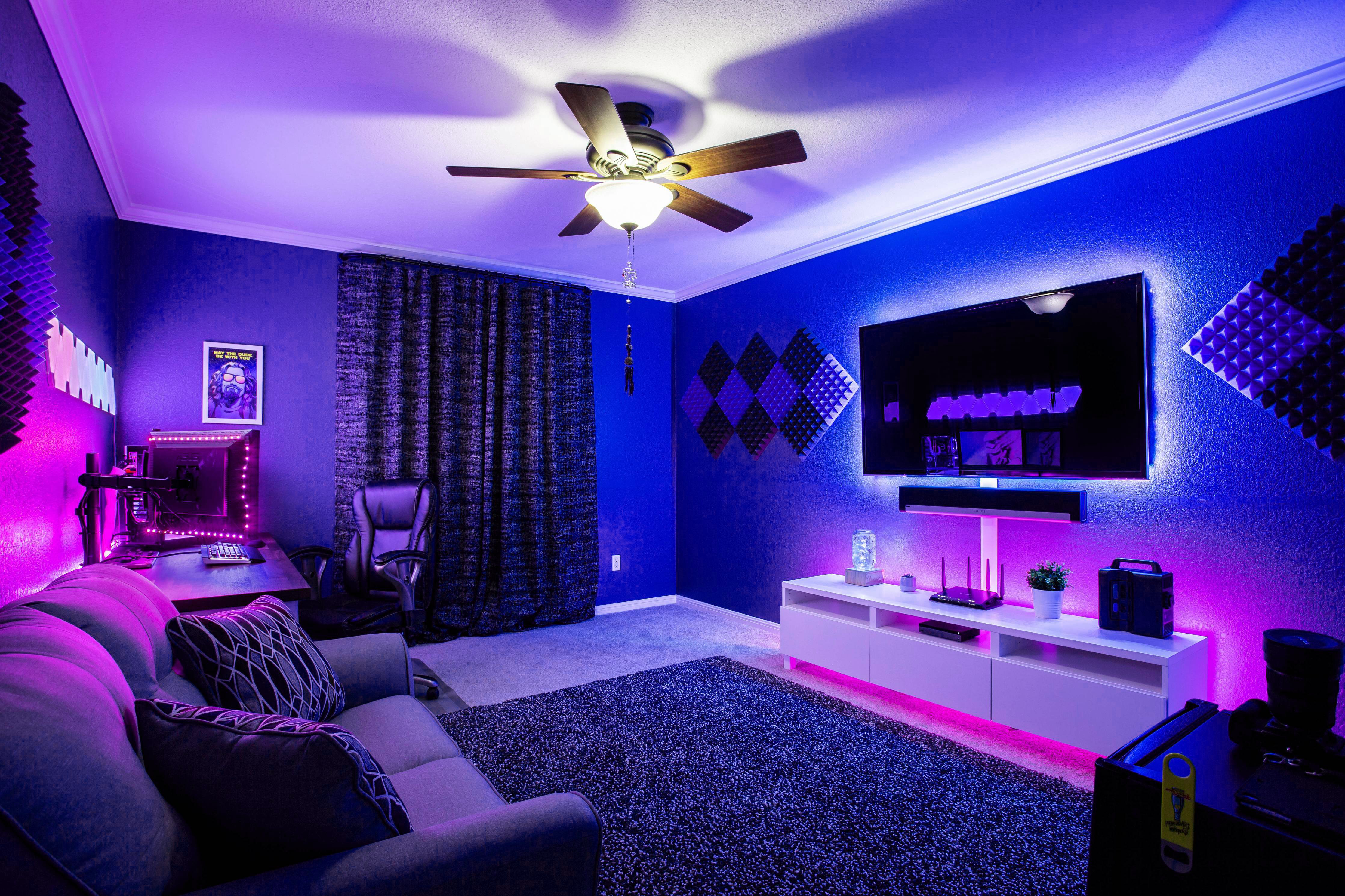 Light Up Your Room With Our Vertiiigo Led Light Strips Turn Your Room Into The Room Of Your Dreams Make Your Bedro Bedroom Setup Chill Room Gaming Room Setup