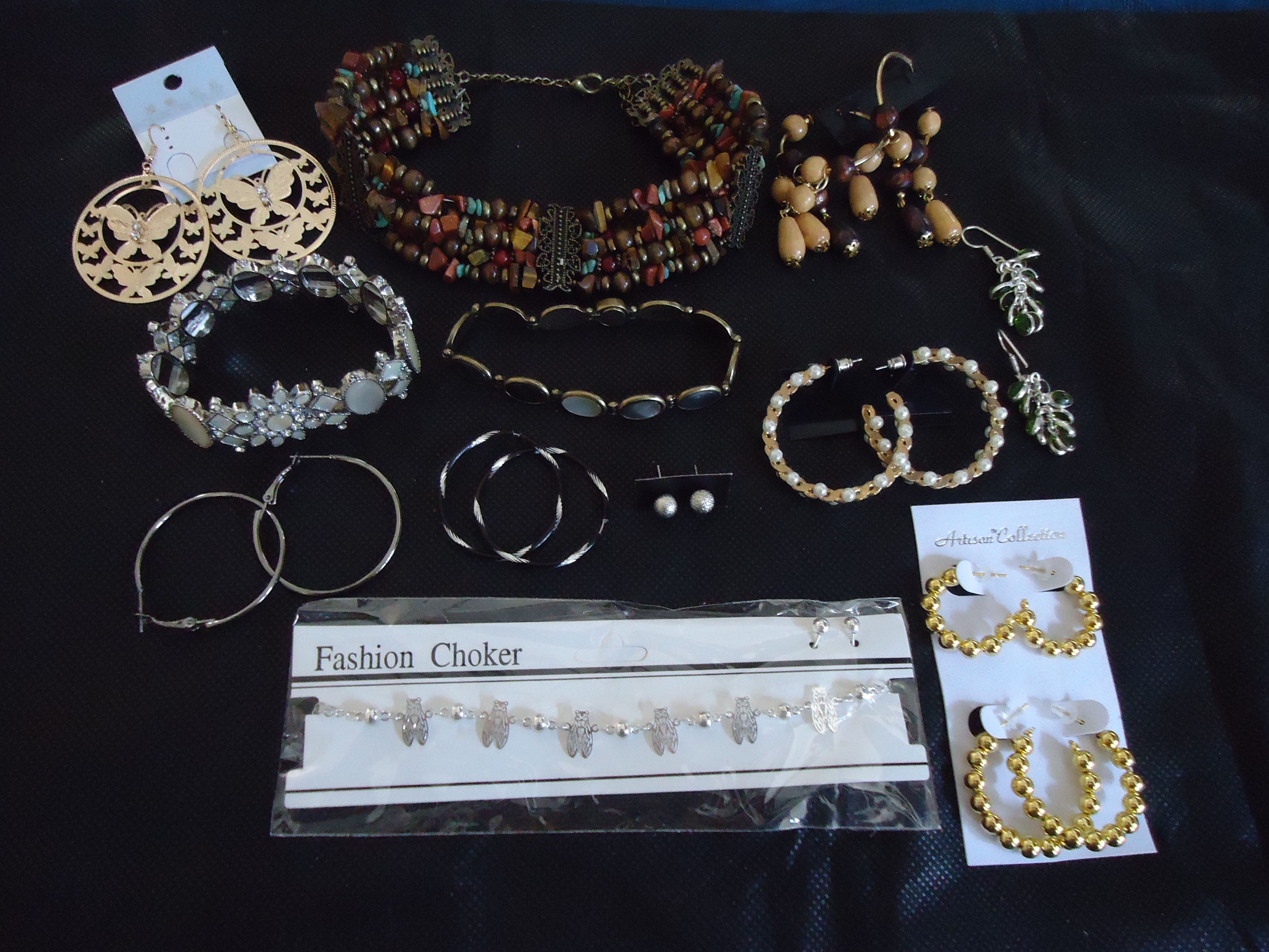 Jewelry, jewelry, and more jewelry!