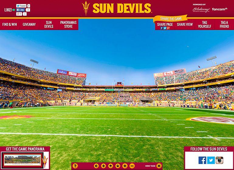 Pin on Arizona State University Sun Devils Panoramic