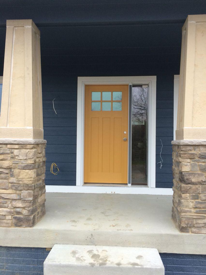 Brilliant Front Door Is Honeycomb From Sherwin Williams Home Door Handles Collection Olytizonderlifede