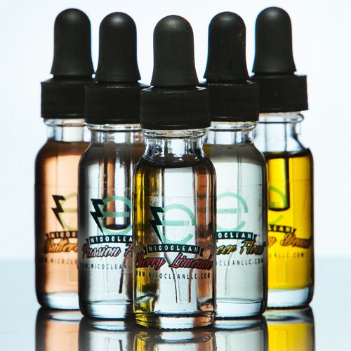 Good Packing Empty 50ml Clear Amber Blue Green Glass Eliquid Bottle