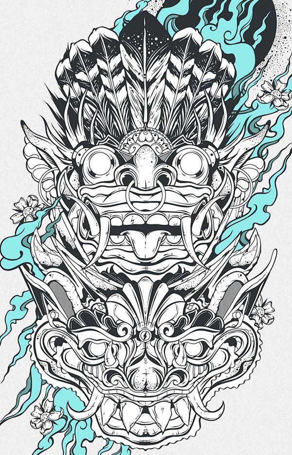 Pin oleh Witthaya Seetawan di 11 Sketsa, Tato keren, Drawing