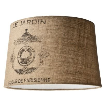 Burlap Lampshade | Find The Latest News On Burlap Lampshade At House Of  Anaïs