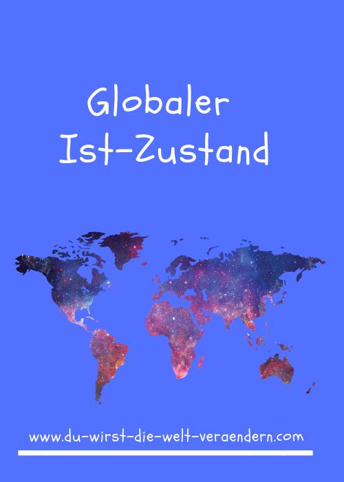 Globaler Ist Zustand Zustand Ungerechtigkeit Welt