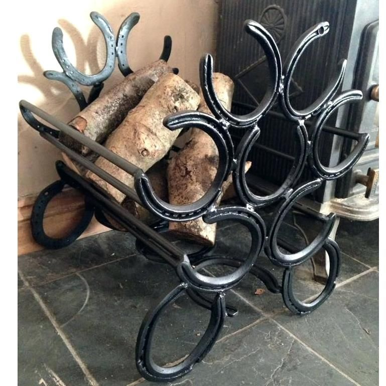 Horseshoe Furniture Beautiful Things Made From Old Welding