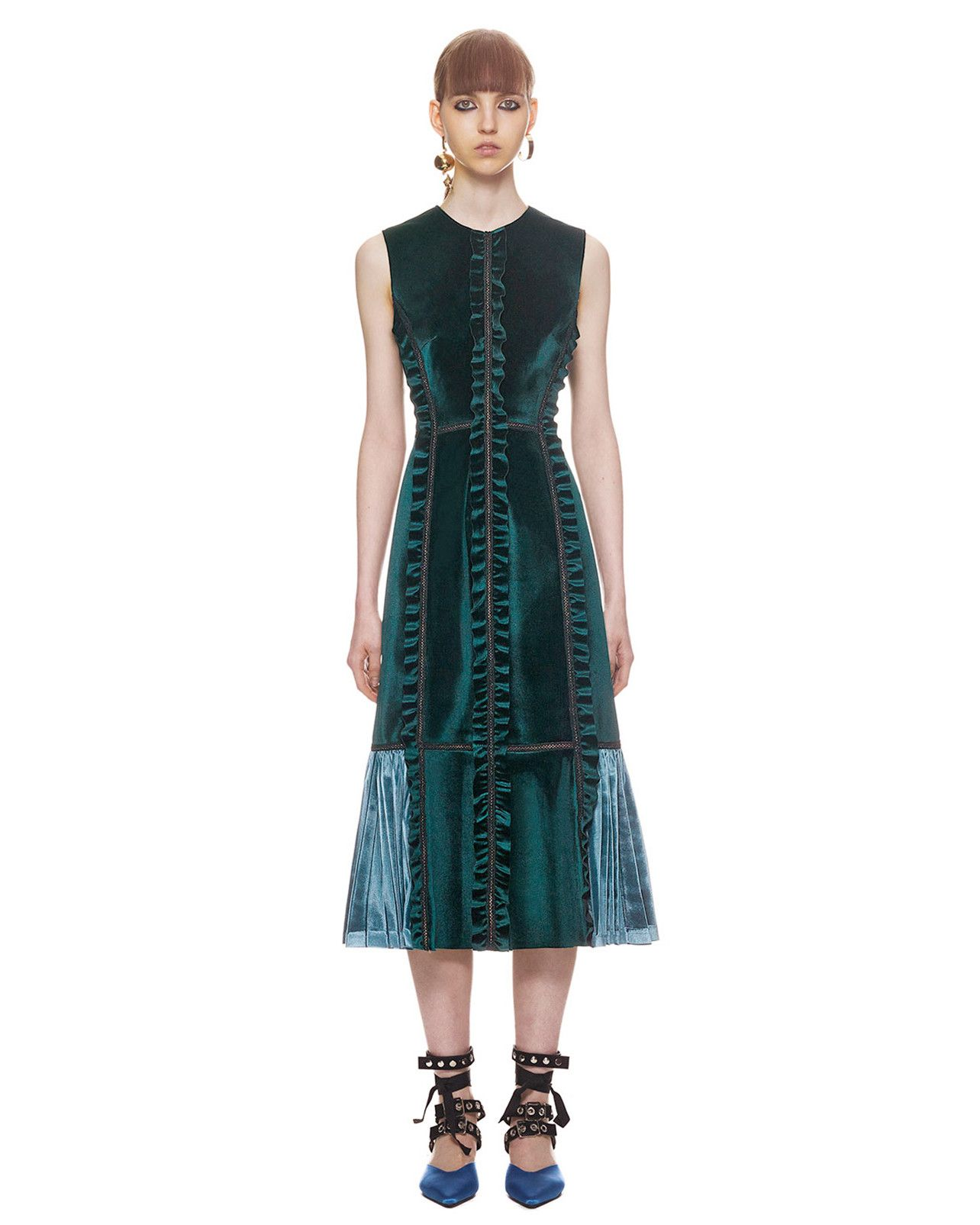 0686dab0f39 35 Sleeveless Mother-of-the-Bride and-Groom Dresses. Self-Portrait Velvet  Dress