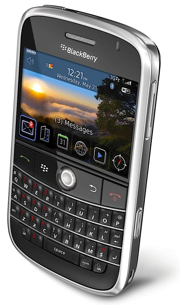Blackberry Bold--the most consistant thing in my life  I