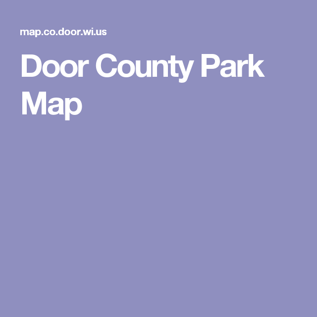 Map Door Wi Us - Map co door wi us