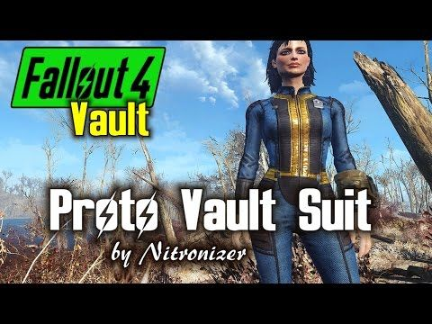 Proto Vault Suit at Fallout 4 Nexus - Mods and community