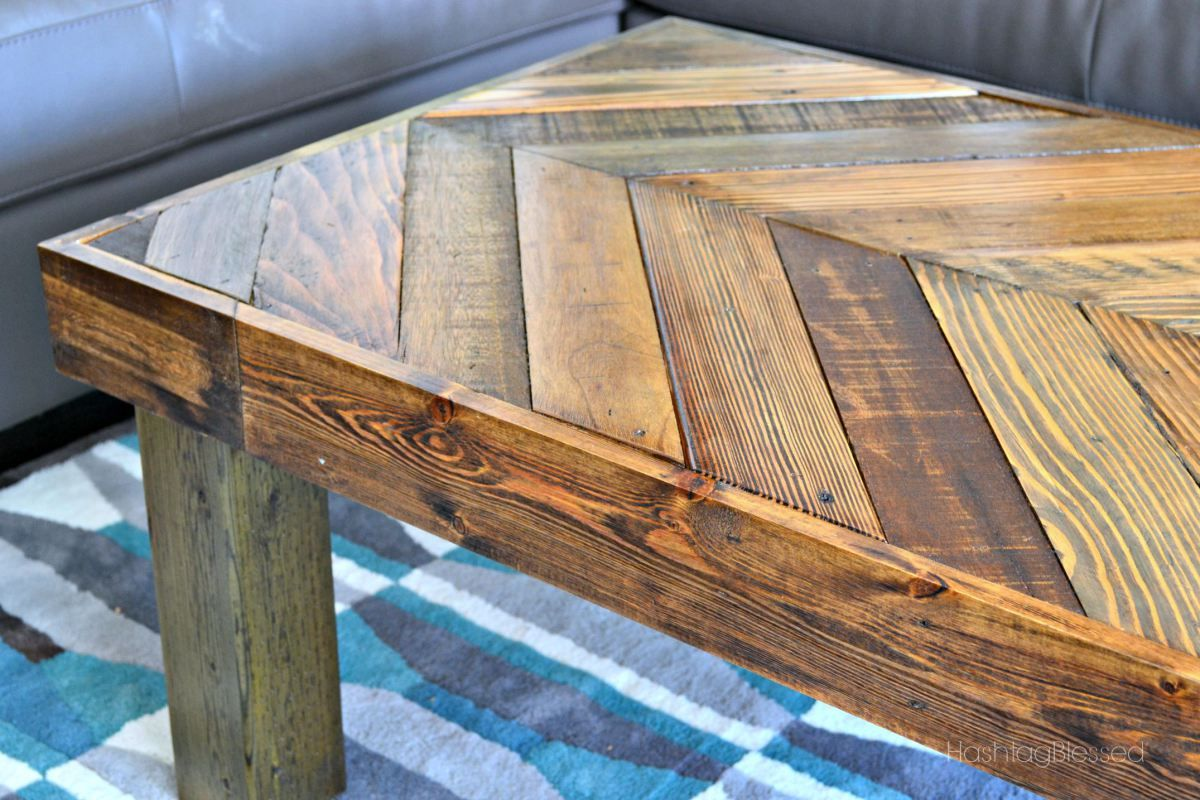 Diy Pallet Coffee Table Amazing Pallets Upcycled And
