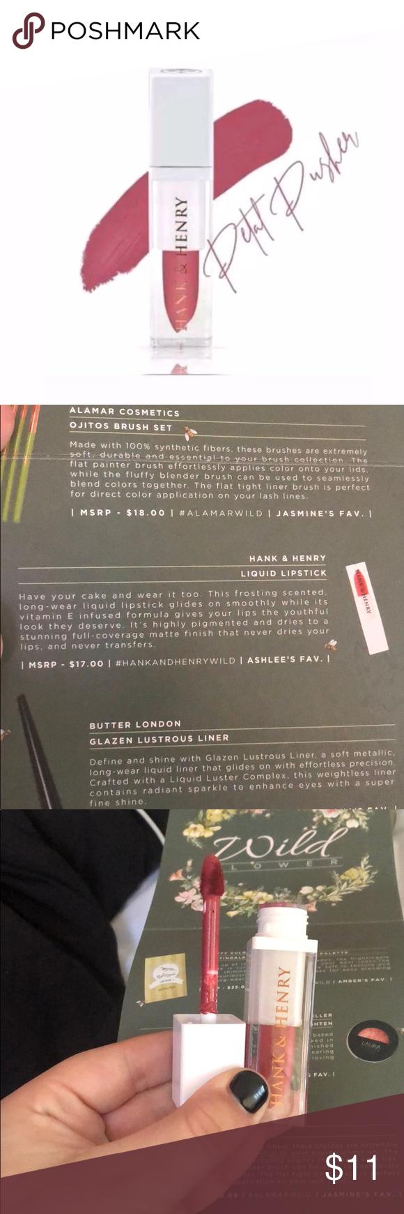 hank & henry liquid lipstick NWT (With images) Lipstick