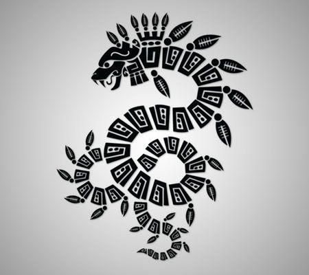 quetzalcoatl   Bocetos   Pinterest   Serpientes, Tatuajes y Azteca