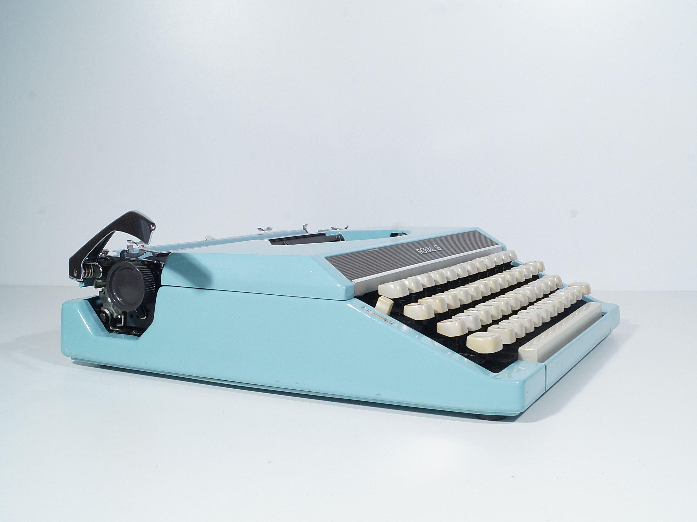 Schreibmaschine Royal 200 Qwertz 70s Reiseschreibmaschine Mit