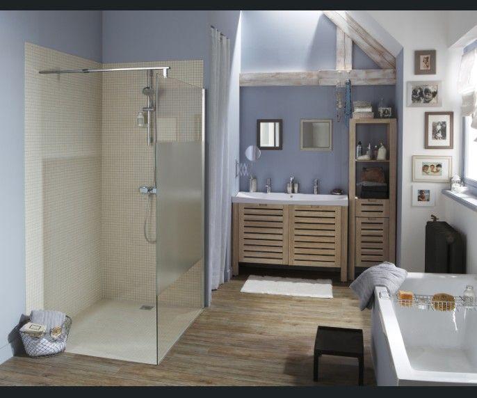 Douche moderne et raffinée | Bien-être et salle de bain | Pinterest