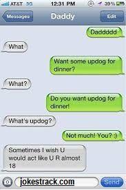 Jokes Track Want Some Updog For Dinner Funny Texts Jokes Funny Text Conversations Funny Texts