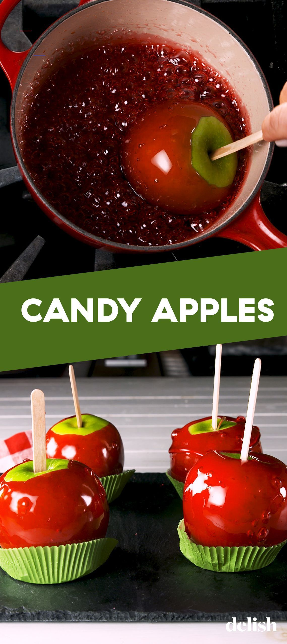 These Easy Candy Apples Are A Fall MUST candyapples