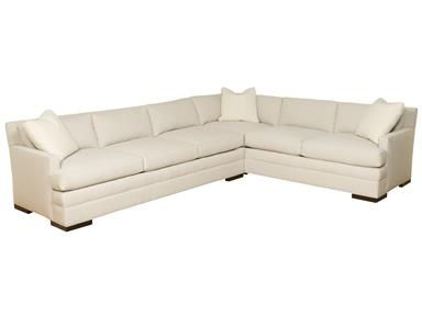 Vanguard Newberry Park Left Arm Sofa 608 Las Sofa Living Room
