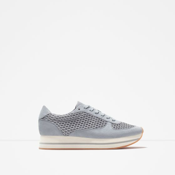 Sneakers for Women On Sale, Grey, Velvet, 2017, 5.5 Alexander Smith